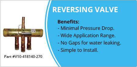 1 18x78 reversing valve for ranco part