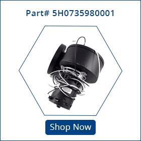 5h0735980001 part for modine inducer motor