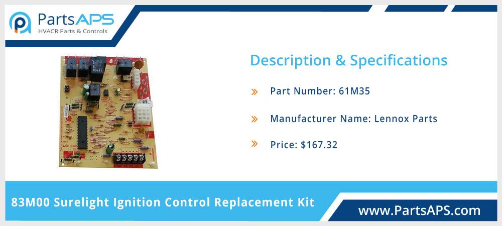 Lennox 83M00 Surelight Ignition Control Board | Lennox Furnace Parts- PartsAPS