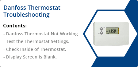danfoss thermostat troubleshooting guide