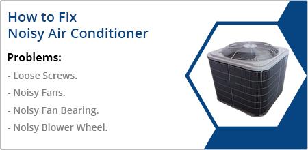 fix noisy air conditioner