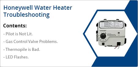 honeywell water heater troubleshooting guide