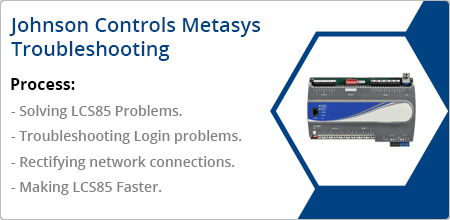 johnson controls metasys troubleshooting guide