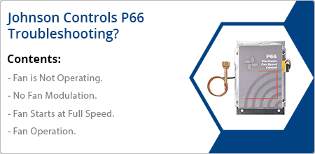 johnson controls p66 troubleshooting guide
