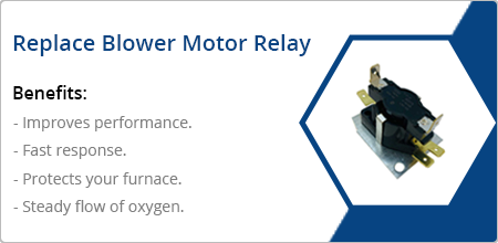 replace blower motor relay