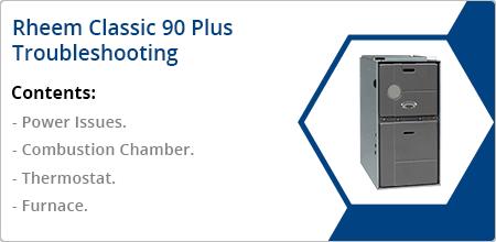 rheem classic 90 plus troubleshooting guide