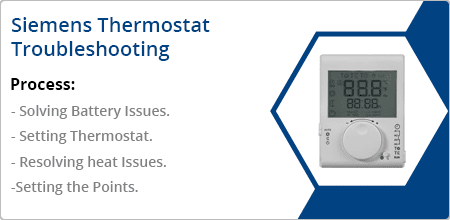 siemens thermostat troubleshooting guide
