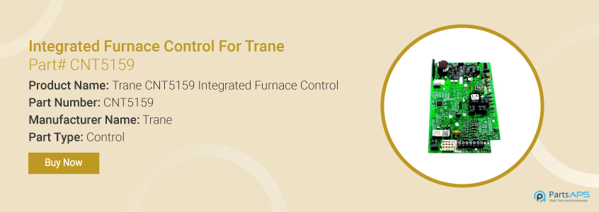 trane CNT5159 integrated furnace control