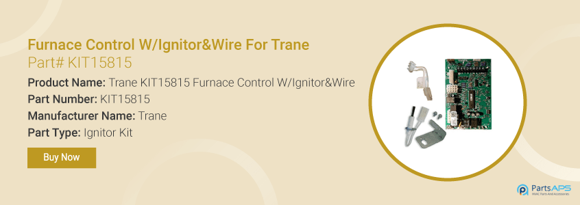 trane KIT15815 furnace control ignitor wire