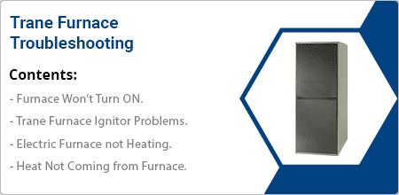 trane furnace troubleshooting guide