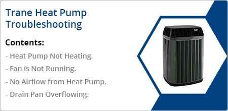 trane heat pump troubleshooting guide