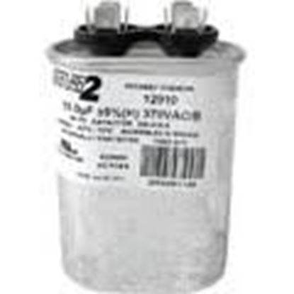 Picture of 15MFD 370V Oval Run Capacitor For MARS Part# 12910