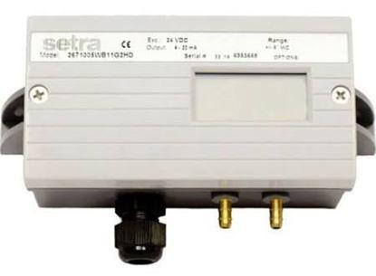 "Picture of 0-.25""WC,0-10VDC,DiffPresXducr For Setra Part# 2671R25WD2EA1FD"