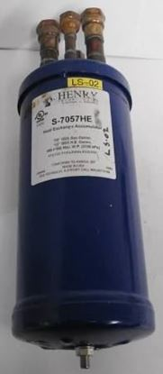 """Picture of 1 5/8"""" DISCHARGE LINE MUFFLER For Henry Technologies Part# S-6415"""