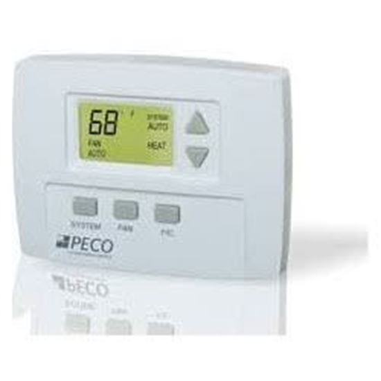 Picture of CommericalElectThermostat 3spd For Peco Controls Part# TB170-001