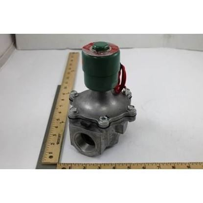 """Picture of 1 1/4""""NC Xprf,0/25#AirGas,Alum For ASCO Part# EF8215B60"""