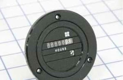 Picture of 120V Blackbird HourMeter Round For Redington Part# 711-0160