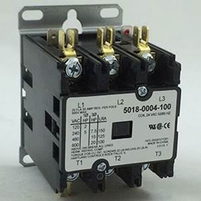 Picture of 24v Coil 3P 35AMP CONT For Marley Engineered Products Part# 5018-0004-100