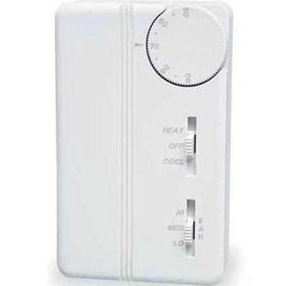 Picture of ElecTstat ManC/O 3spFanHtClOff For Peco Controls Part# TA155-046