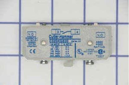 Picture of 1 N/O Aux. For Contactor For Cutler Hammer-Eaton Part# C320KGS20