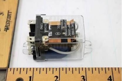 Picture of 24V 5A DPDT PlugIn Relay For Aaon Part# P91000
