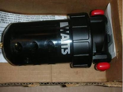 """Picture of 1/2"""" Metal Bowl Fltr;Man.Drain For Parker Watts Fluid Air Part# F602-044A"""