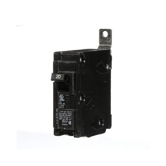 Picture of 1pole 120v 20amp CIRCUIT BRKR For Siemens Industrial Controls Part# B120