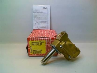 "Picture of 1/2""N/C,SolenoidVlvLessCoil For Danfoss Part# 032U7115"