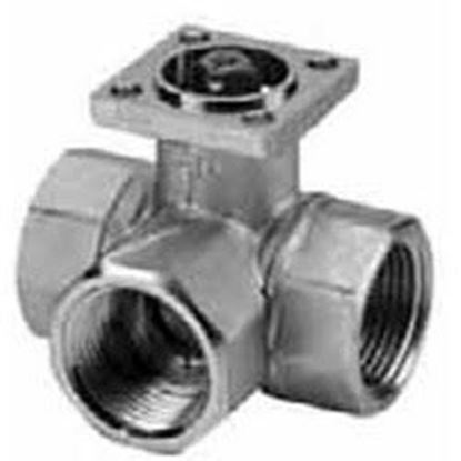 "Picture of 1 1/2"" 3W 46cv BALL VALVE For Belimo Part# B341"