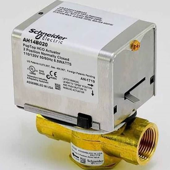 """Picture of 1""""NPT 3W 35# 24V PROP NSR For Schneider Electric (Erie) Part# VM3427P33A000"""
