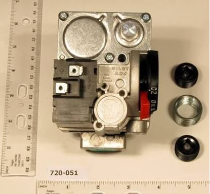 """Picture of 1/2x3/4""""HSI GAS VLV,24v,UNIKIT For Robertshaw Part# 720-051"""