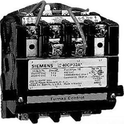 Picture of 208V 3Ph Sz3.5 Open Contactor For Siemens Industrial Controls Part# 40IP32AD