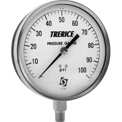 "Picture of 0/60#SS GAGE 1/4L,4.5""(833020) For Trerice Part# 600CB4502LA100"