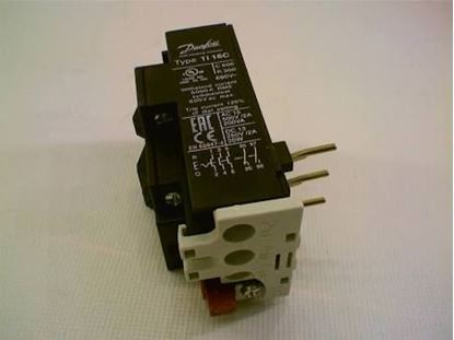 Picture of TI16C 2.7-4.2Amp OverloadRelay For Danfoss Part# 047H0208