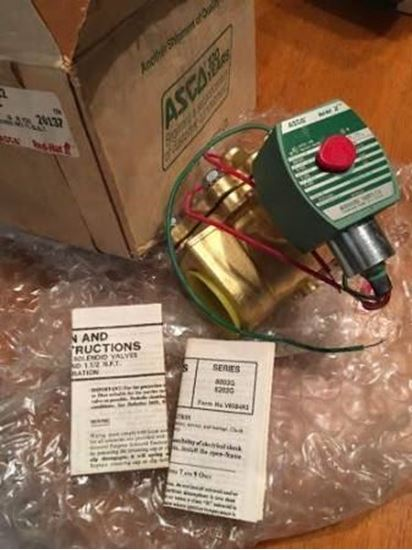"""Picture of 1 1/2""""N/C 5/150#H2O/AIR For ASCO Part# 8210G22-24V"""