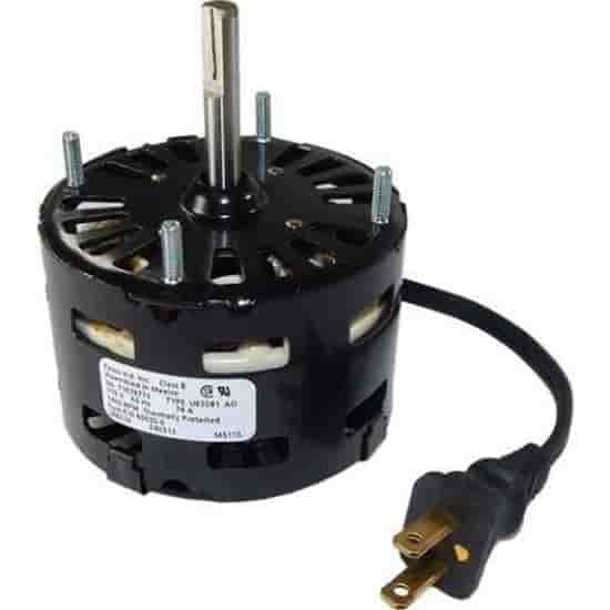 1/80HP 115V 1400RPM 1Spd Motor; HVAC Parts: Heating/Ventilation and Air Conditioning Parts & Suppliers