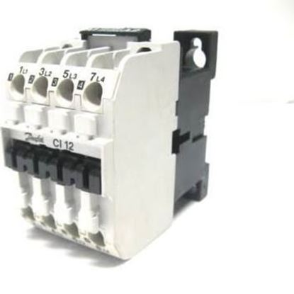 Picture of CI12 24V CONTACTOR 25A 4P For Danfoss Part# 037H003213