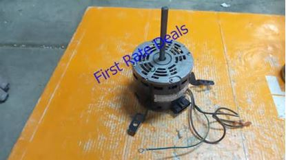 Picture of 1/2hp 240-277v1ph 3spd ODP MTR For Enviro-tec Part# PM-02-0076
