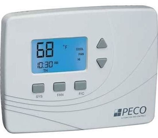 Picture of CommercialElectThermostat3spd For Peco Controls Part# TA180-001
