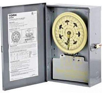 Picture of 7DAY ELECTROMECH DPST 120V For Tork Timers Part# W200