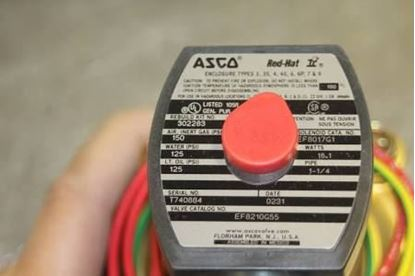 """Picture of 1 1/4""""NC,Xprf,0/125#Wtr,150Air For ASCO Part# EF8210G55"""