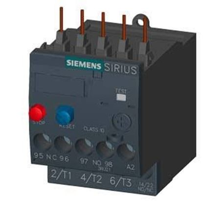 Picture of 1.4-2A OVERLOAD RELAY For Siemens Industrial Controls Part# 3RU2116-1BB0