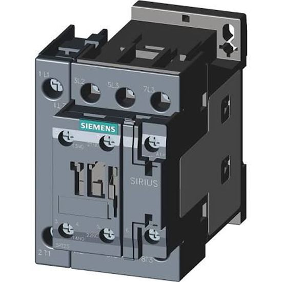 Picture of 115V 3P 42A 1N/O 1N/C Contactr For Siemens Industrial Controls Part# 3RT2327-1AK60