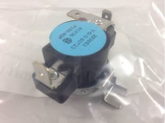Picture of 150-190F AUTO Limit Switch For Sterling HVAC Part# 11J11R00306-001