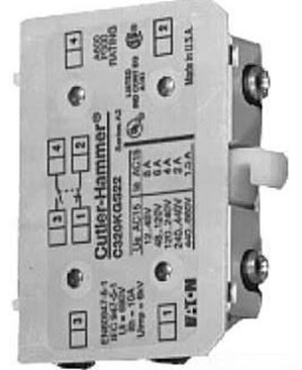Picture of 1 N/C Aux. For Contactor For Cutler Hammer-Eaton Part# C320KGS21