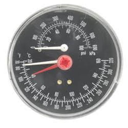 "Picture of 0/30# 2.5"" # Gauge; 1/4""BtmMnt For Weil McLain Part# 510-218-045"