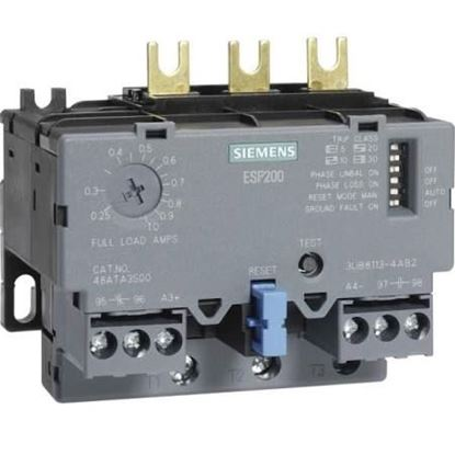Picture of .75/3.4A 3Ph Overload Relay For Siemens Industrial Controls Part# 3UB81134BB2