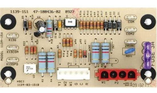 Control Board For Rheem Ruud Part 47 100436 02 Hvac