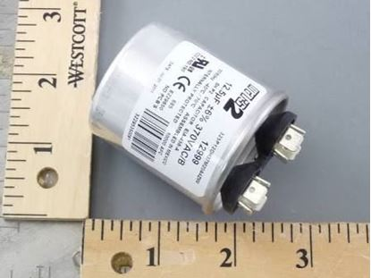 Picture of 12.5MFD 370V Rnd Run Capacitor For MARS Part# 12999