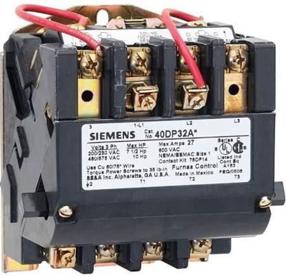 Picture of STARTER 3PH 3POLE 120/240V  For Siemens Industrial Controls Part# 40EP32AA